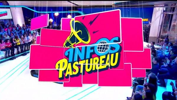 Le logo Infos Pastureau de l'Hebdo show de TF1