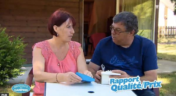 Avis et commentaires sur Patricia et Giani dans Bienvenue au camping
