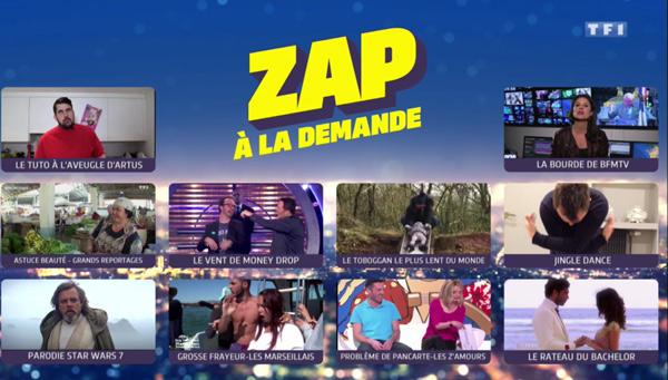 Du zapping télé sur Cinq à Sept avec Arthur de TF1