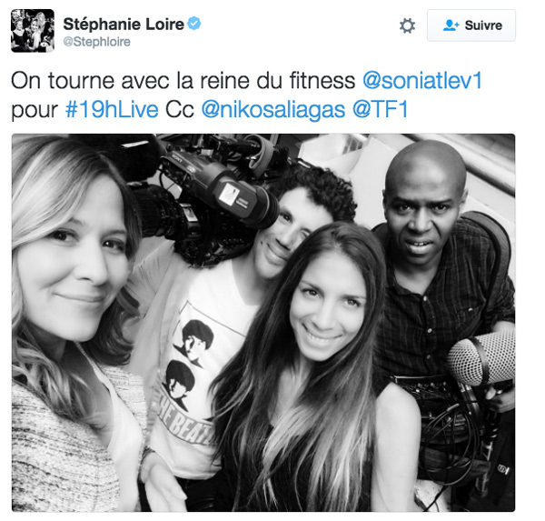 Stéphanie Loire est dans le 19h Live de TF1