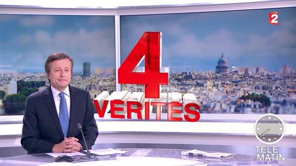 Roland Sicard dans les 4 vérités sur France 2