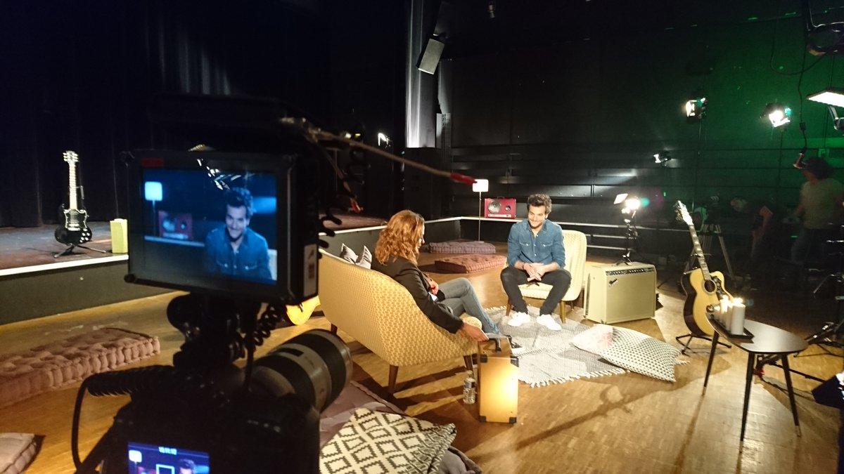 Amir en interview avec Sandrine Quétier dans 50mn inside le 18/06/2016