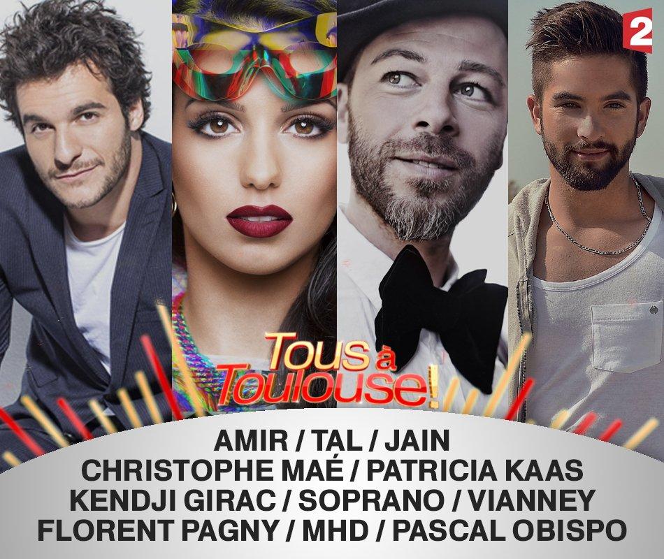 Tous à Toulouse la fête de la musique en direct sur France 2