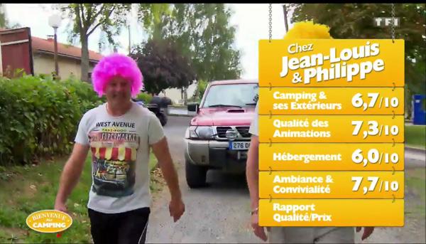 Les notes de Jean Louis et  Philippe sur TF1