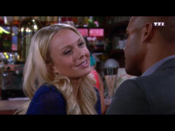 Abby et Tyler en couple amoureux dans les feux de l'amour !