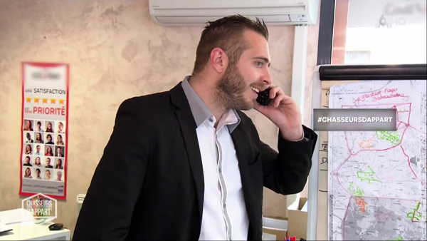 Arnaud l'agent immobilier de Toulon dans Chasseurs d'appart sur M6