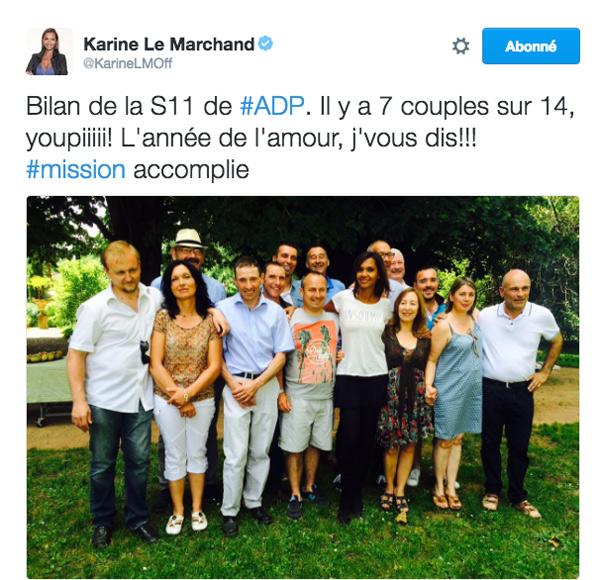 Karine Le Marchand a spoilé le bilan de l'amour est dans le pré saison 11 : bonne idée ou pas ?