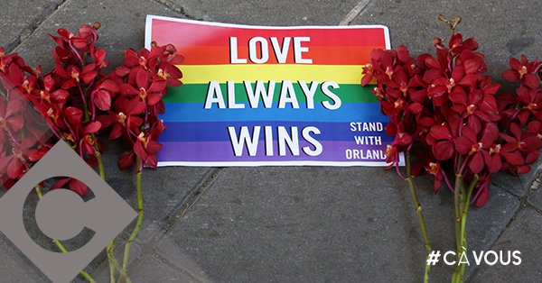 C à vous rend hommage aux victimes d'Orlando