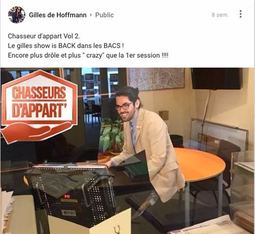 Gilles le retour dans Chasseurs d'appart sur M6