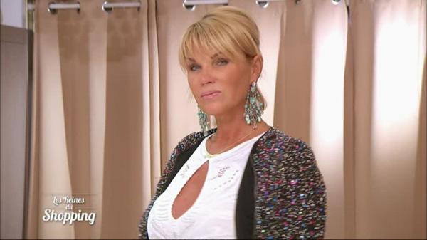 Christelle la relookeuse à la sharon stone de retour en 2016 dans les reines du shopping