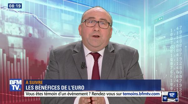 Emmanuel Lechypre sur BFMTV et BFM Business avec ses chroniques et débats éco
