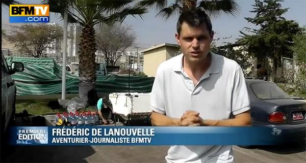 Frederic de lanouvelle le départ de BFMTV pour TF1 et Nikos Aliagas
