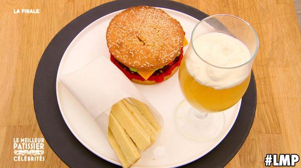 Recette du burger d'Artus qui a épaté