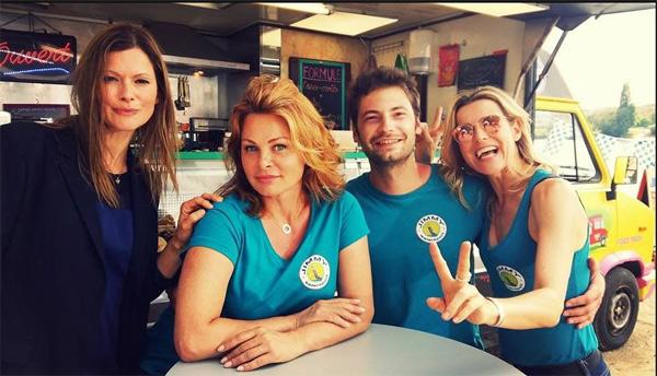 Photo de tournage de Hugo dans les mystères de l'amour saison 13 / Photo FB TonyMazari.Fans