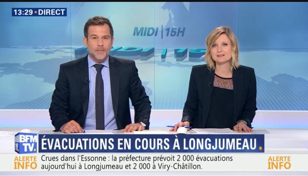 Le duo Karine de Ménonville et Ronald Guintrange sur BFMTV : ça marche !!