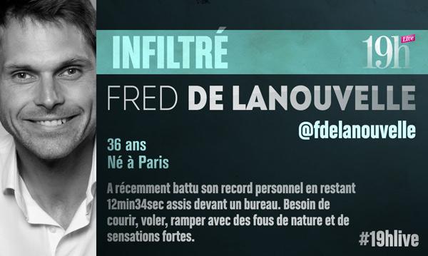 Fred de Lanouvelle sur TF1 au 19h Live : la nouvelle recrue dans les infiltrés