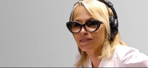 Laure Adler sur France Inter chaque soir en septembre 2016 / Capture écran