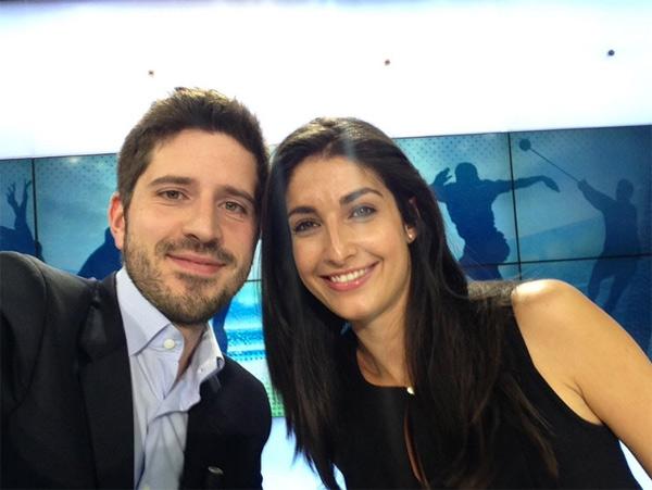 Le duo Lesly Boitrelle et Thibault Giangrande sur BFM Sport / photo twitter