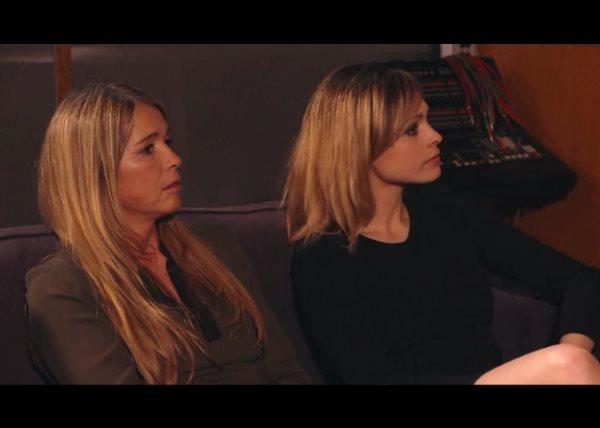 Les soeurs Girard réunies : Chloé et Hélène au studio
