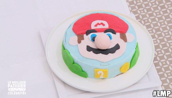 Le gâteau d'Artus - Mario a séduit jury et téléspectateurs  / Photo twitter LMP officiel