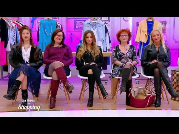 Les filles en compétition dans les reines du shopping la semaine du 13/06/2016