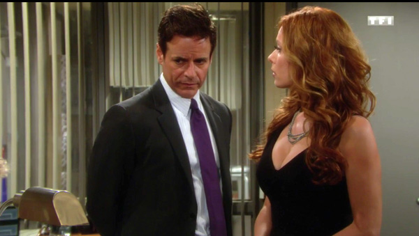 Michael et Lauren luttent contre Carmine dans les feux de l'amour du 27/06/2016 sur TF1