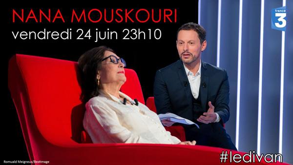 Vos avis et réactions Nana Mouskouri dans le divan de Marc Olivier Fogiel. A ne pas manquer !