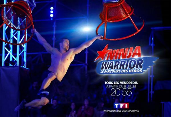Vos réactions et commentaires à Ninja Warrior sur TF1 : top ou flop ?