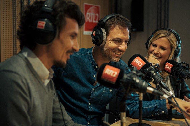 Vos avis et commentaires sur Le double expresso RTL2 avec Justine Salmon, Gregory et Arnaud Tsamère  / Photo twitter