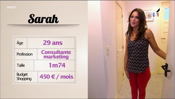 Sarah belle et fashion dans les reines du shopping !