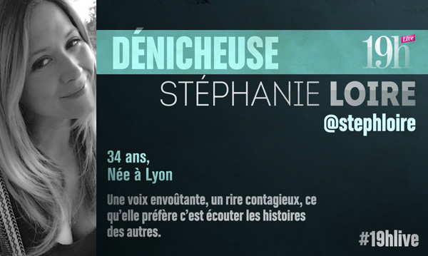 Avis et commentaires sur Stéphanie Loire dans le 19h Live de TF1