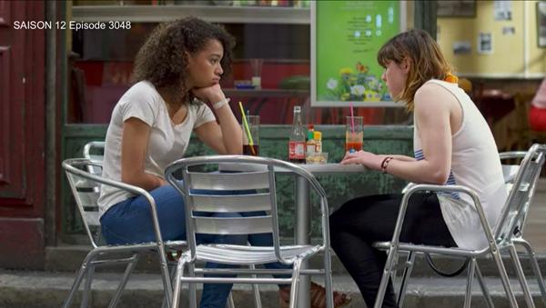 Thérèse en pleine déprime, elle se confie à Zoe