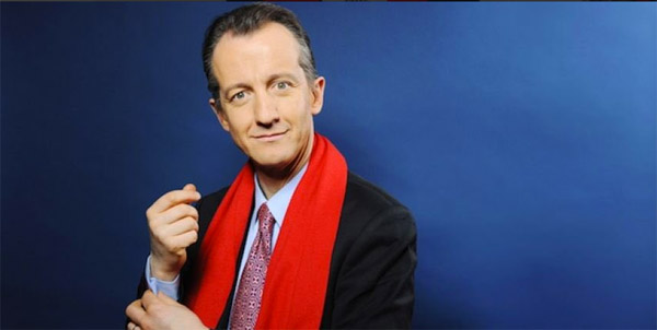 Christophe Barbier journaliste BFMTV à la rentrée 2016
