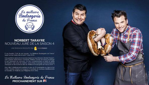 La nouvelle saison 2016 de la meilleure boulangerie de France saison 4