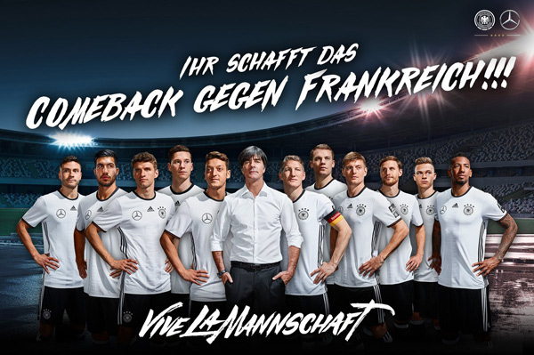Où regarder le match Allemagne-Pays de Galles euro 2016 pour la petite finale / Photo twitter