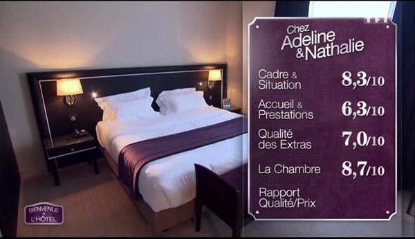 Les notes d'Adeline et Nathalie : elles ont des gagnants de Bienvenue à l'hôtel