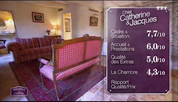 Les notes pour l'hôtel de Catherine et Jacques