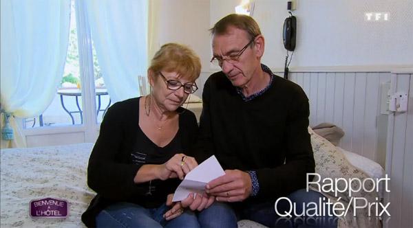 Avis et commentaires sur l'hôtel de Sylvie et Jean Luc de Bienvenue à l'hôtel