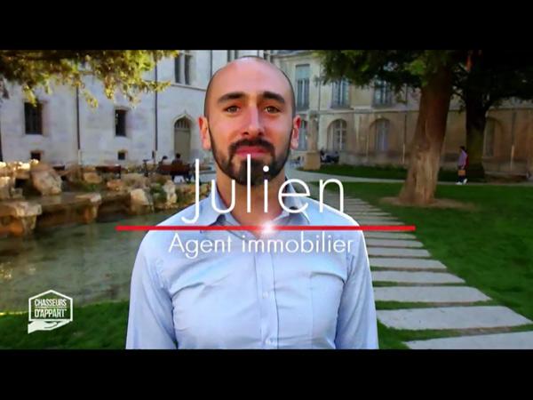 Vos avis sur Julien agent de Chasseurs d'appart Dijon