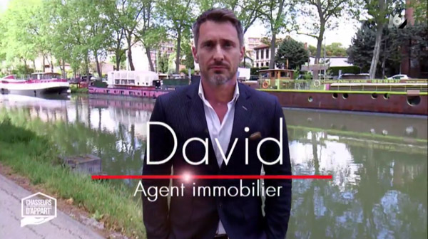 Vos avis sur David l'agent immobilier toulousain de chasseurs d'appart sur M6