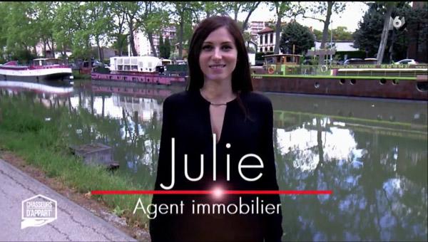 Vos avis sur Julie l'agent immobilier toulousain de chasseurs d'appart sur M6
