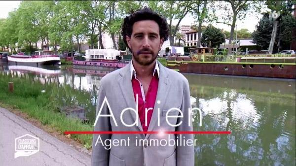 Vos avis sur Adrien l'agent immobilier toulousain de chasseurs d'appart sur M6