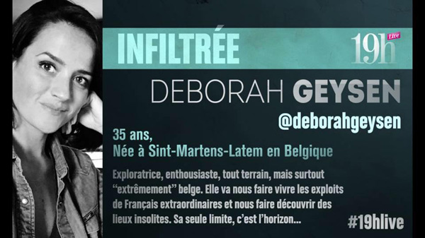 Vos commentaires et réactions sur Deborah Geysen du 19h LIVE