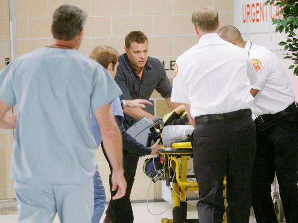 William à l'hôpital pour sauver Cordeilia surnommée Delia  sa fille / Photo CBS