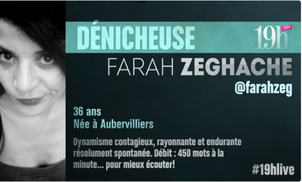 Avis et commentaires du Farah Zeghache dans le 19h Live