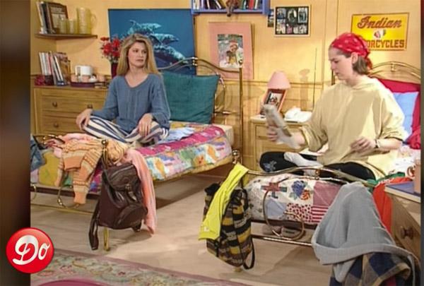 La chambre d'Helen et Johanna ;)
