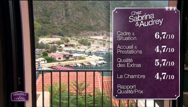 Les notes de l'hôtel de Sabrina et Audrey #bienvenuealhotel