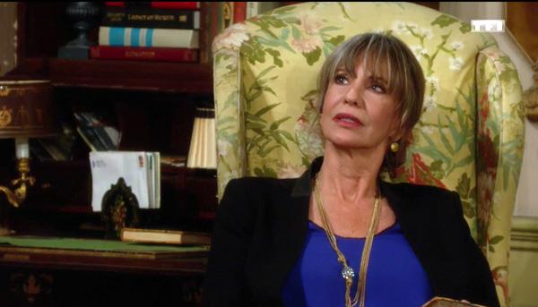 Jill part découvrir l'intrigue de Katherine en Suisse pour les feux de l'amour