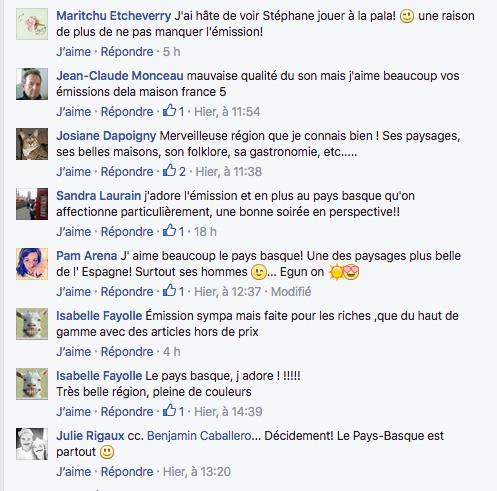 Critiques positives pour la maison France 5 au Pays Basque du 1er juillet