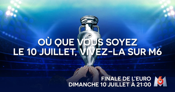 Audience finale Euro 2016 France Portugal sur M6 le record de tous les temps